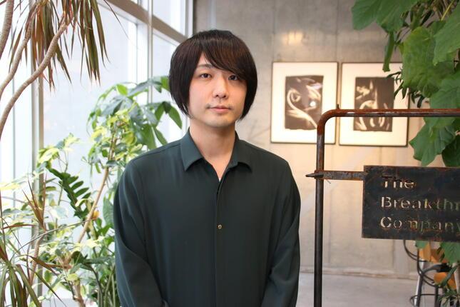 小竹海広さん(2020年12月撮影)