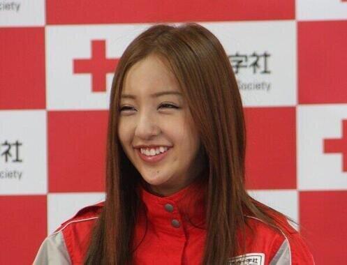 板野友美さん(2011年撮影)