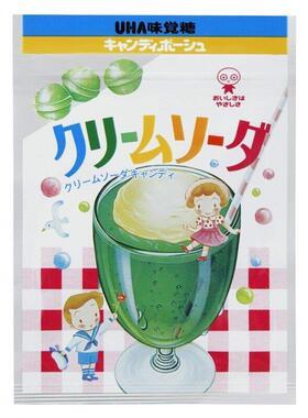 UHA味覚糖クリームソーダ(同社提供)