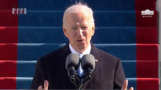 バイデン新大統領の就任演説は総じて「安全運転」。事実関係の誤りや誇張がクローズアップされることはなかった
