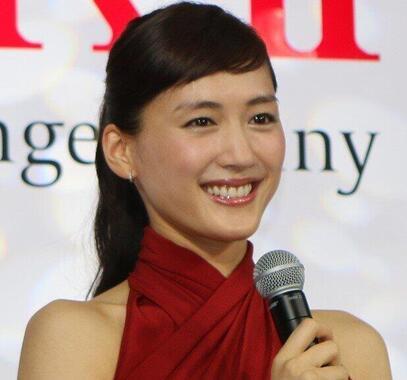 綾瀬はるかさん(2015年撮影)