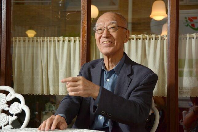 2021年1月に死去した作家の半藤一利さん(写真:明田和也/アフロ)