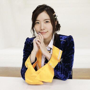 J-CASTニュースの取材に応じるSKE48の松井珠理奈さん。「アンチ」との向き合い方についても語った