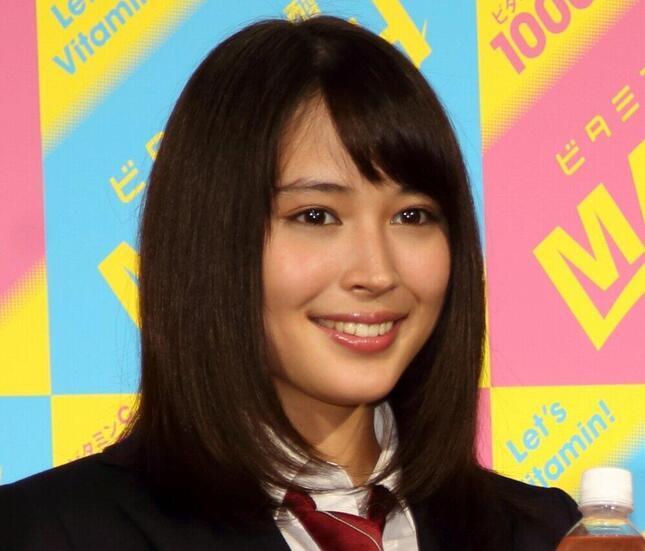 広瀬アリスさん(2015年撮影)