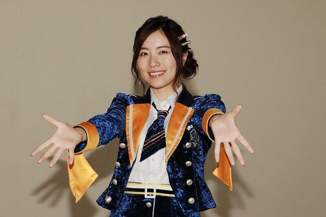 SKE48の松井珠理奈さん。選抜総選挙の意義についても語った