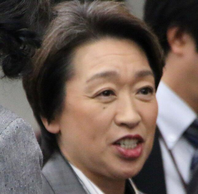 橋本聖子氏(2019年11月撮影)