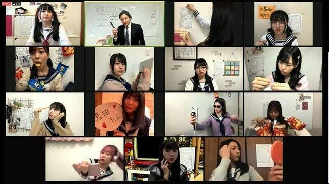 HKT48の劇団「ミュン密」による作品「水色アルタイル」。アイドル志望の高校3年生が仲間を集めて文化祭出演を目指す青春ストーリーだ