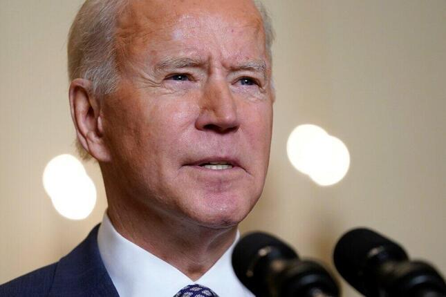 アメリカのジョー・バイデン大統領(21年2月19日、写真:AP/アフロ)