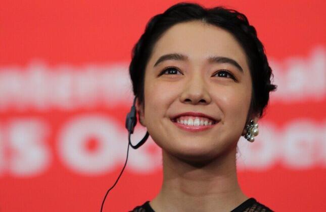 上白石萌音さん(写真:YONHAP NEWS/アフロ)が妹・萌歌さんに「幸多かれ~」とメッセージ。