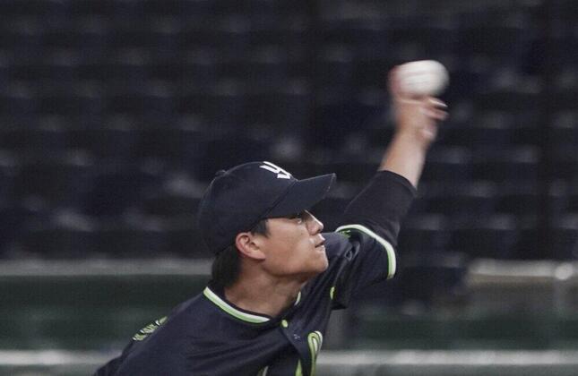 ヤクルトの高橋奎二投手(写真:AP/アフロ)