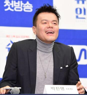 J.Y.Park氏(写真:アフロ)