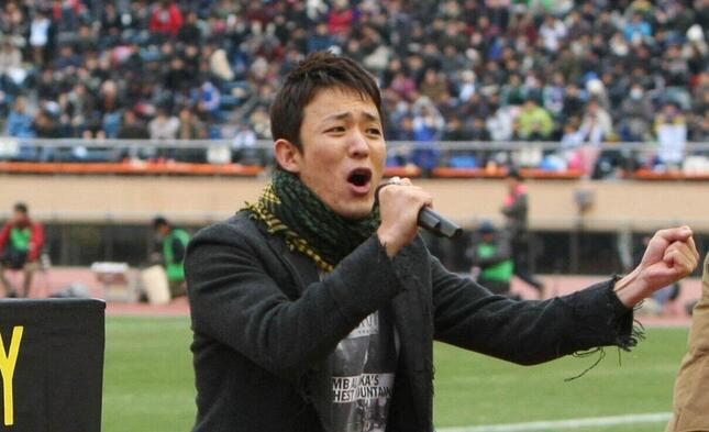 ファンキー加藤さん(YUTAKA/アフロスポーツ)