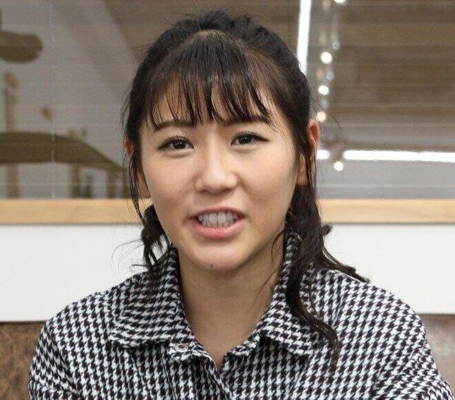 西野未姫さん(2019年撮影)