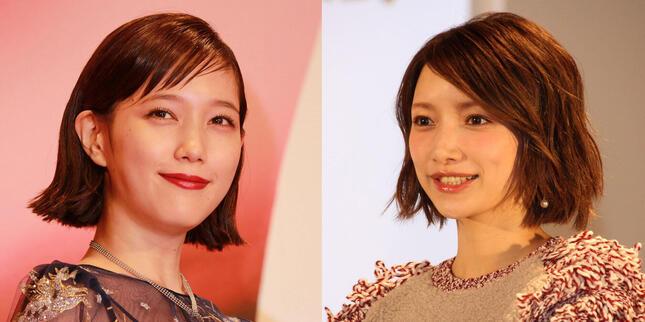 左:本田翼さん/右:後藤真希さん