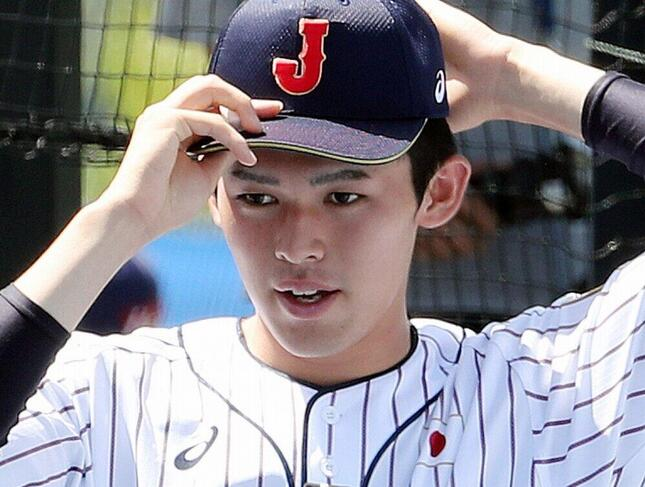 佐々木朗希投手(写真:YONHAP NEWS/アフロ)