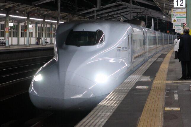 「みずほ」に使用されるN700系電車