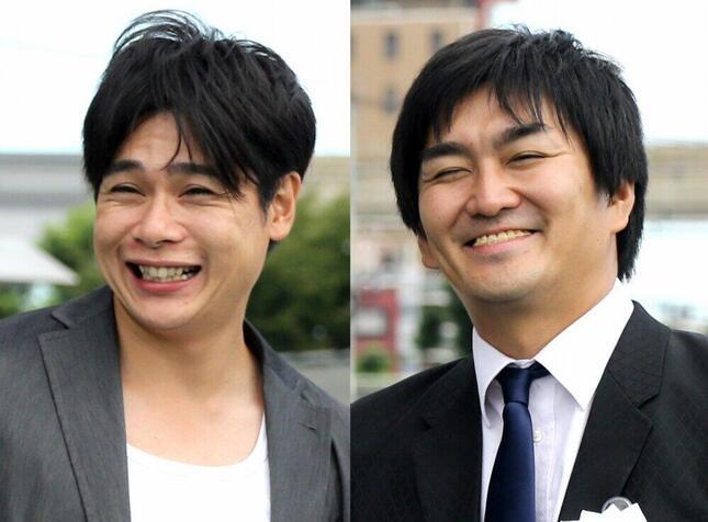 平成ノブシコブシの吉村崇さん(左)と徳井健太さん(2018年/写真:山根英一/アフロ)