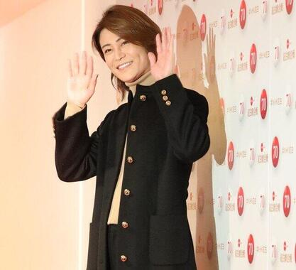 氷川きよしさん(撮影2019年12月、NHK紅白歌合戦リハーサルで)が「尊敬」している人物とは?
