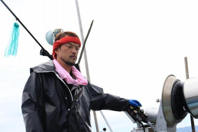 大船渡・吉浜の漁師、千葉豪さん(写真はご本人提供)