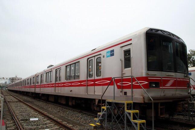 置き換えが進行中の東京メトロ丸ノ内線02系