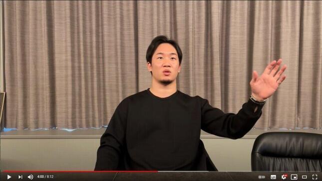 朝倉未来選手のYouTubeチャンネル「ふわっとmikuruチャンネル」4月4日投稿動画より