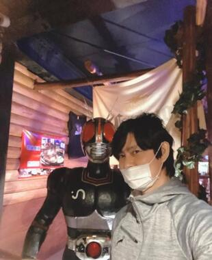 倉田てつをさん(フェイスブックより)