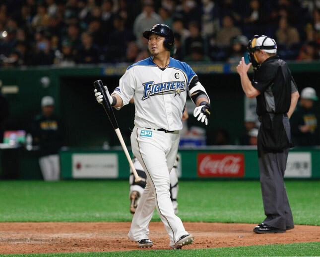 中田翔選手(提供:アフロ)