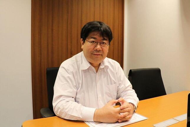 山田太郎氏(2017年5月撮影)