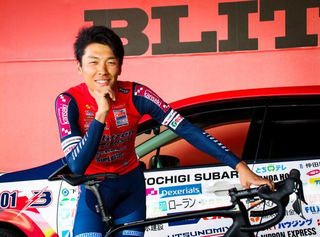 宇都宮ブリッツェン所属のプロロードレーサー・小野寺玲選手(25)