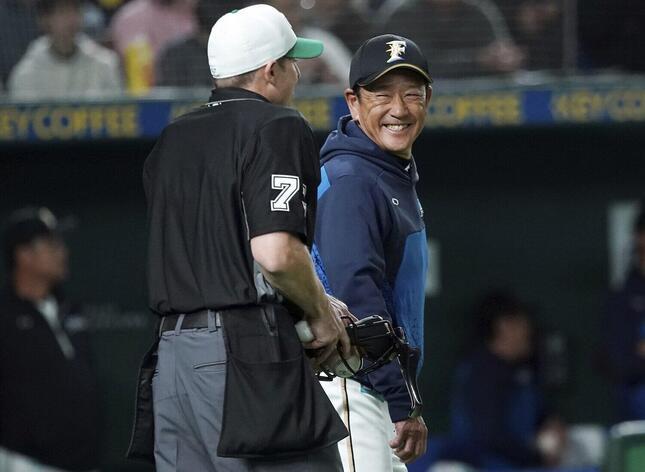 栗山英樹監督(写真:AP/アフロ)