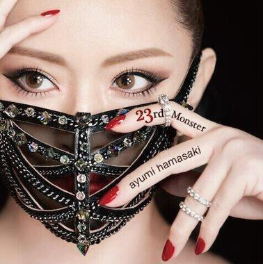 浜崎あゆみさんが4月8日に配信を開始した新曲「23rd Monster」のジャケット