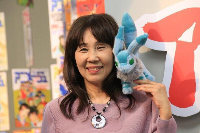 アニメ「風の谷のナウシカ」で主人公ナウシカを演じた声優の島本須美さん