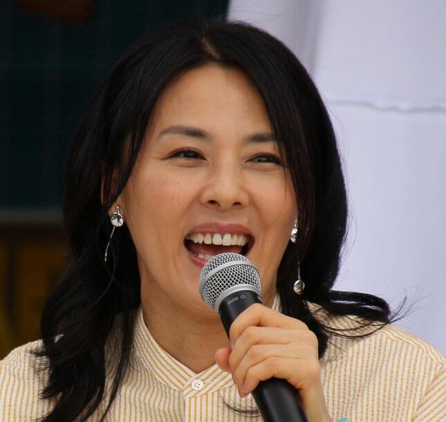 井森美幸さん(2017年撮影)