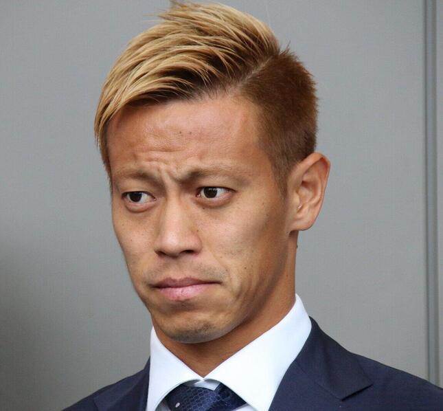 本田圭佑選手(2018年撮影)