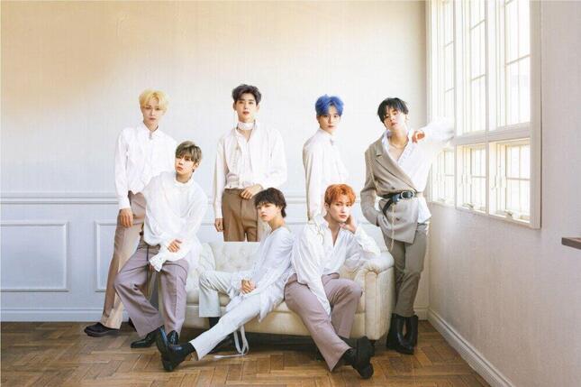 日韓合同7人組ボーイズアイドルグループ・ORβIT(オルビット)(プレスリリースより)
