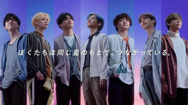 左からSYUNYAさん、YOUNGHOONさん、TOMOさん、YOONDONGさん、YUGOさん、HEECHOさん、JUNEさん(プレスリリースより)