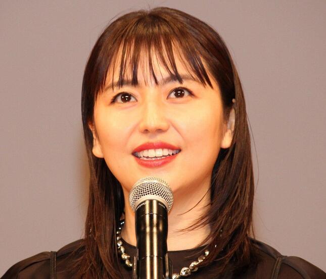 長澤まさみさん(2020年2月撮影)