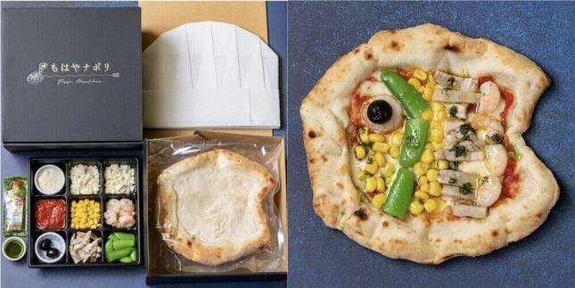 「薪窯ピザ もはやナポリ」から発売、「こどもピザ こどもの日特別セット」