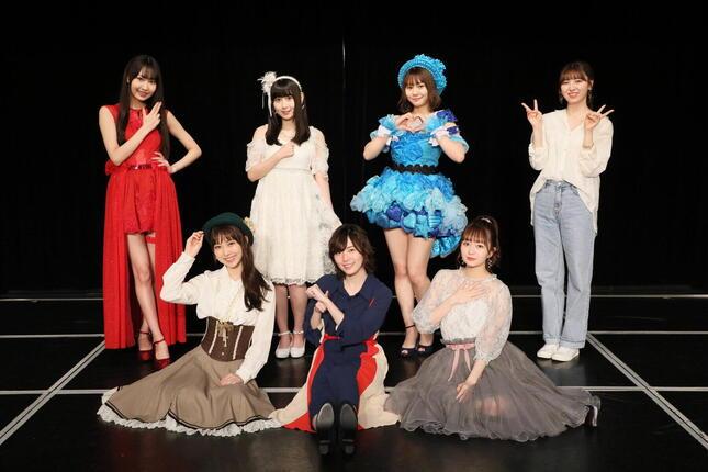 卒業公演は「ラブ・クレッシェンド」のメンバー7人で出演。松井珠理奈以外の6人がソロ曲を披露する場面もあった (c)2021 Zest,Inc.