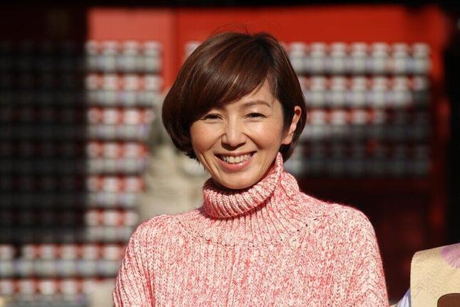 渡辺満里奈さん(2018年)