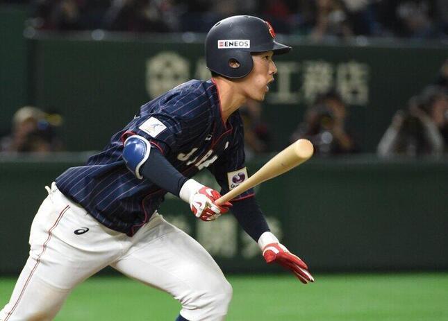 京田選手(選手写真:AFP/アフロ)