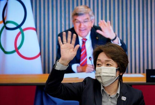 東京2020プレビュー 都内で5者協議(写真:代表撮影/ロイター/アフロ)