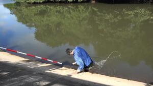 「ため池」の怖さが一瞬で分かる衝撃動画 「これは必見」「全国の小学校で流すべき」