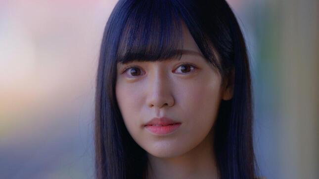 新曲「君とどこかへ行きたい」の「みずほ選抜」でセンターを務める運上弘菜さん。宮脇さんは「本当になっぴってHKTの未来」と激賞した(c)Mercury
