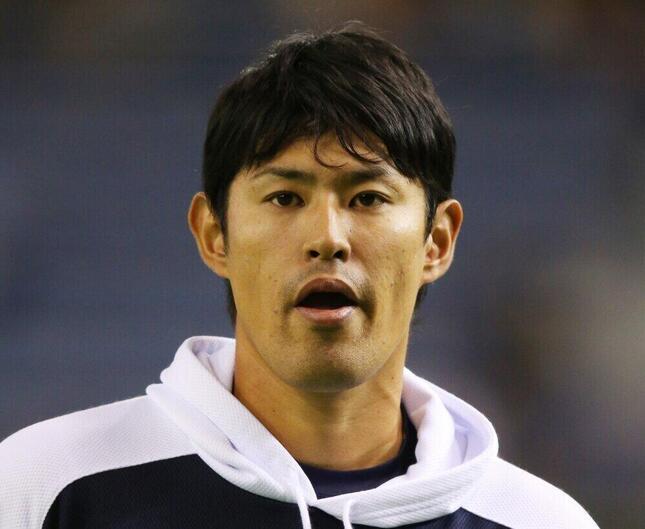 井納投手(写真:アフロスポーツ)