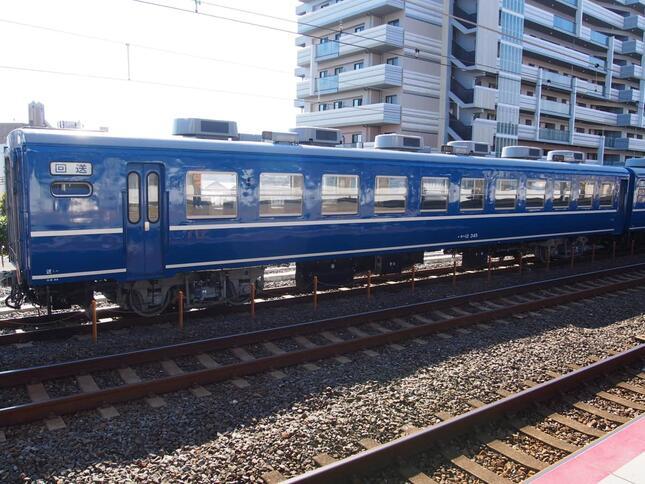 「SL北びわこ号」で使われる12系客車