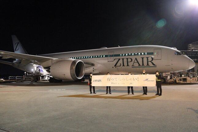 ZIPAIRは2020年12月から21年1月にかけてホノルル便を臨時便として13往復運航。7月から10月にかけて週1往復のペースで運航する予定だ