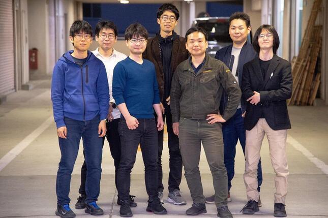 CuboRexは2016年設立のベンチャー企業で、町工場が集積する東京・荒川区に開発拠点を構える。社員数は7人。
