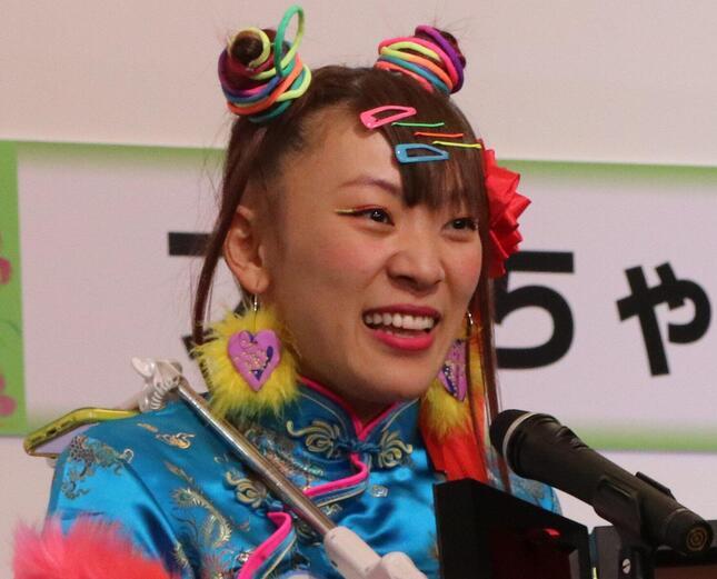 フワちゃん(2020年12月撮影)