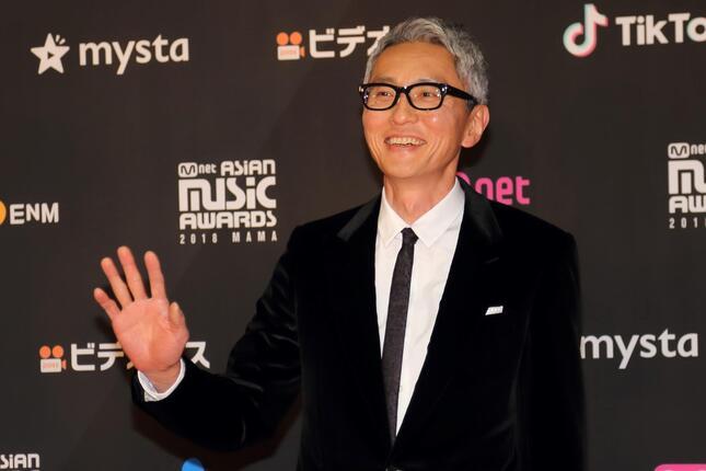 松重豊さん(2018年撮影)